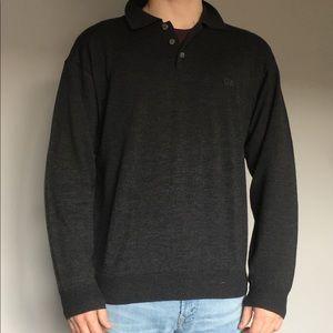 Men's Giorgio Armani long sleeve sweater pullover
